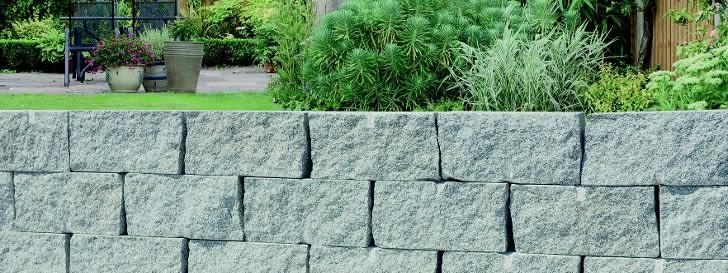 Gartenmauern & Gartenmauersteine