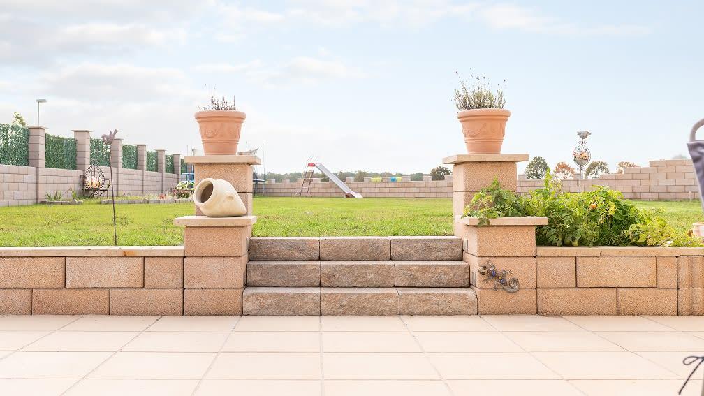 Diephaus Gartenmauer Sandstein