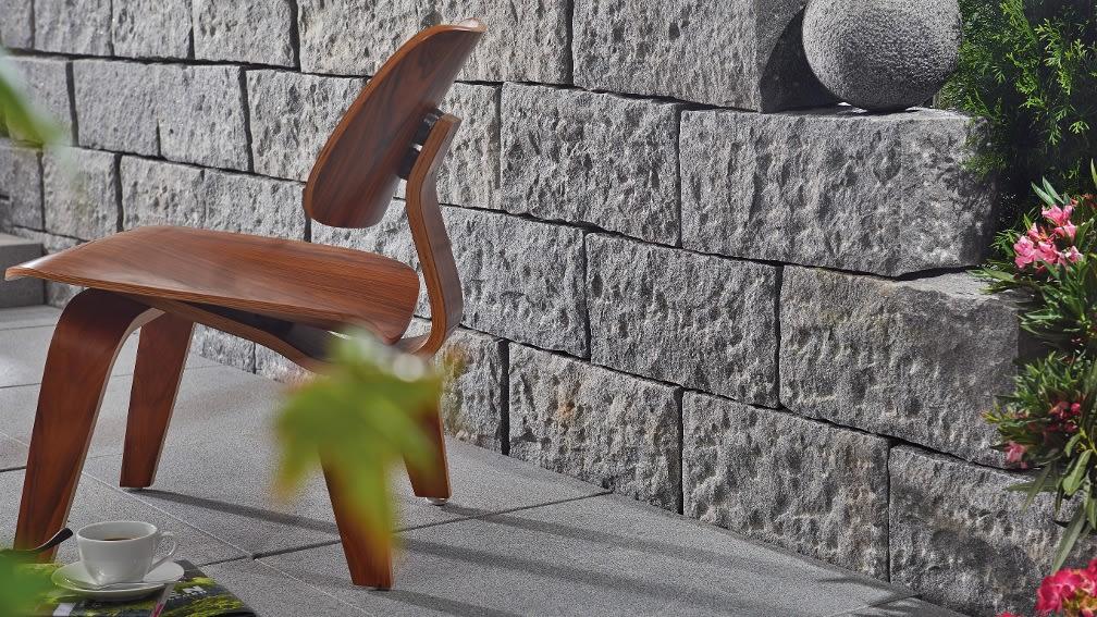 Gartenmauer errichten in Trockenbauweise