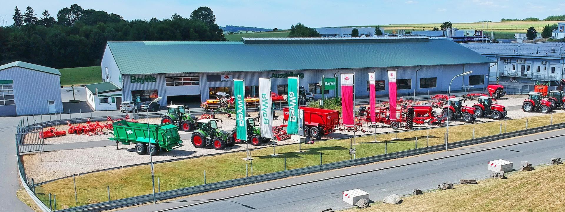 BayWA Agrar Rain Großhandel