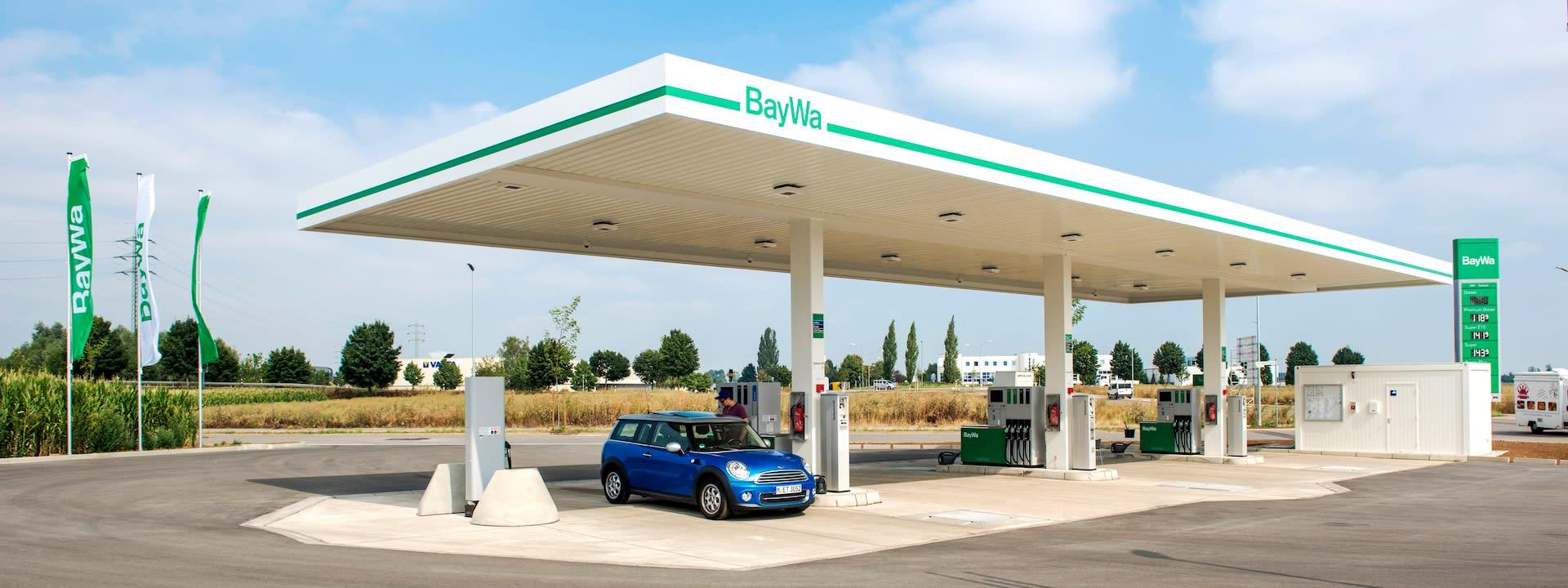BayWa Tankstelle Burgau/Schwaben