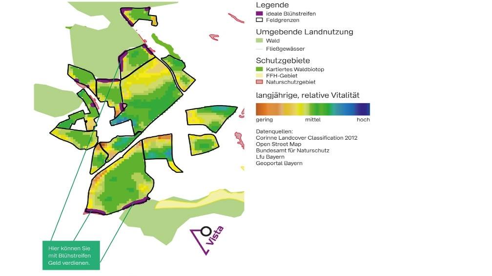 TF-Karte Bluehstreifen