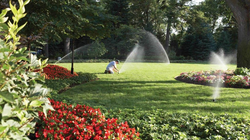 Bewässerung öffentliche Grünflächen