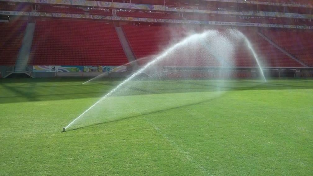 Bewässerung Sportplatz