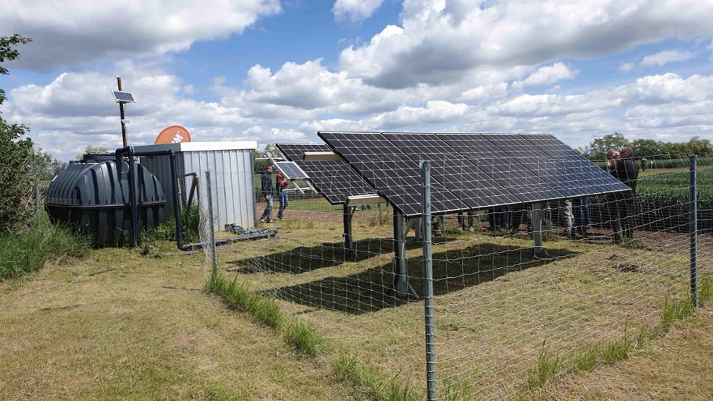 Solargestützte Bewässerung