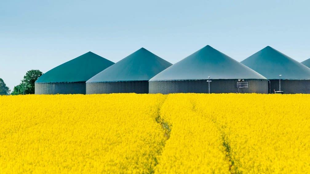 Biogas Silos
