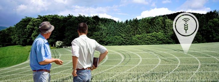 2 men on a field