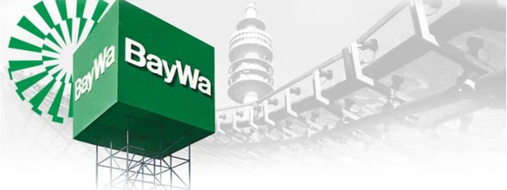 BayWa Logo als Würfel