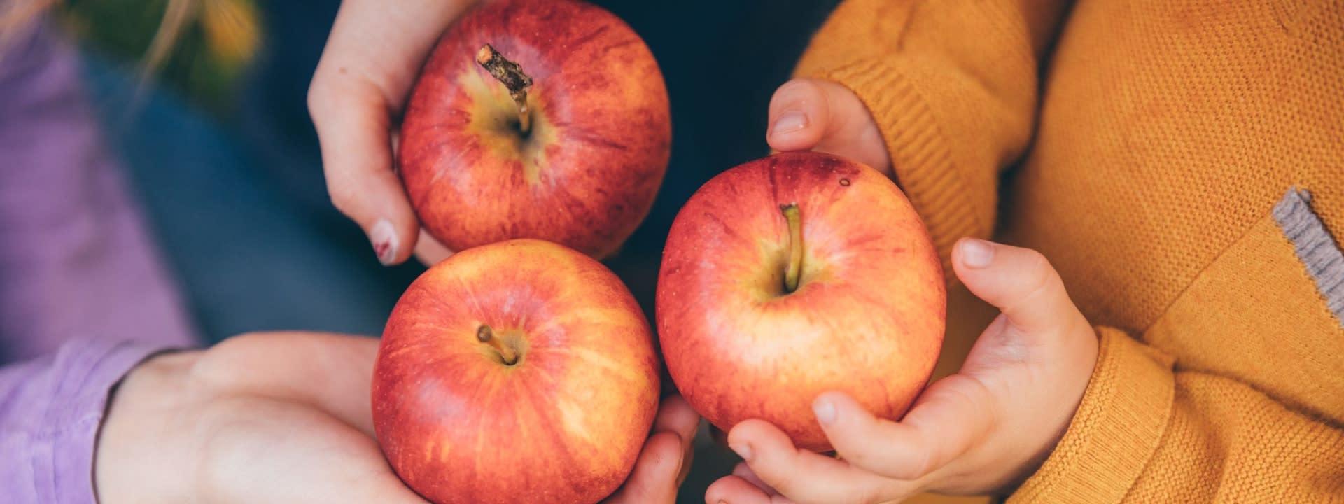 Äpfel aus Deutschland