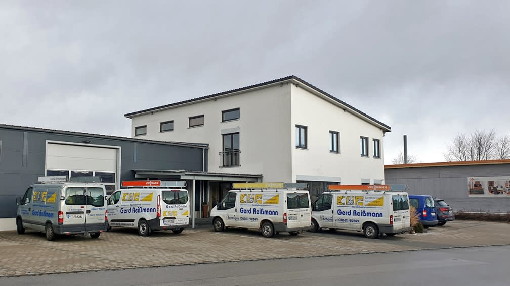 Außenansicht des Standorts der neuen Niederlassung in Schongau.