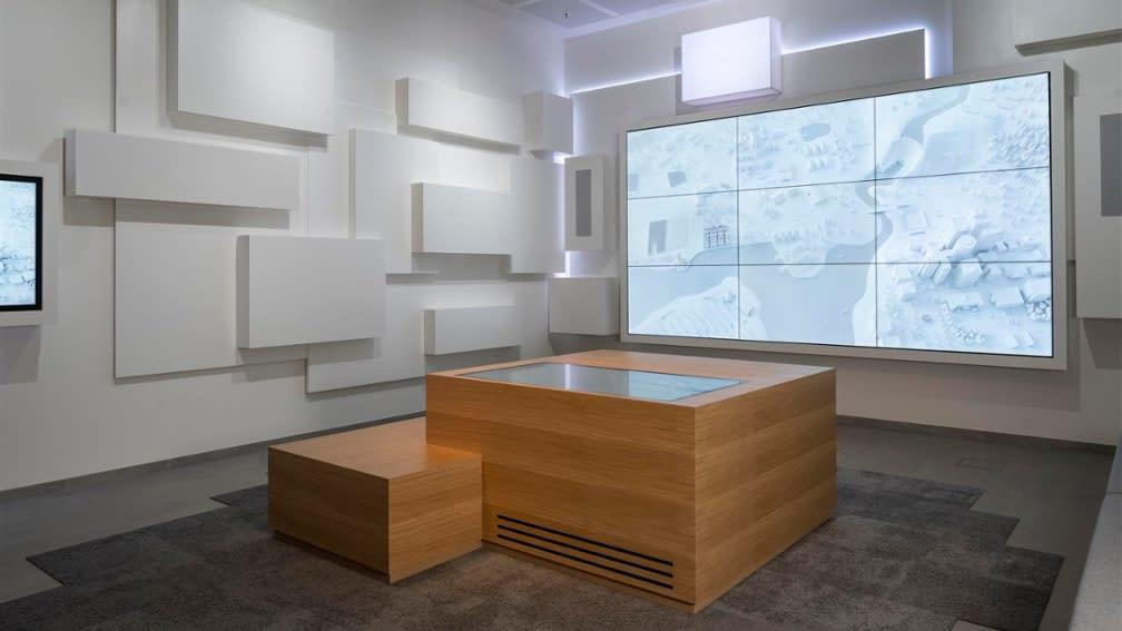 BayWa brand room in the Arabellastraße