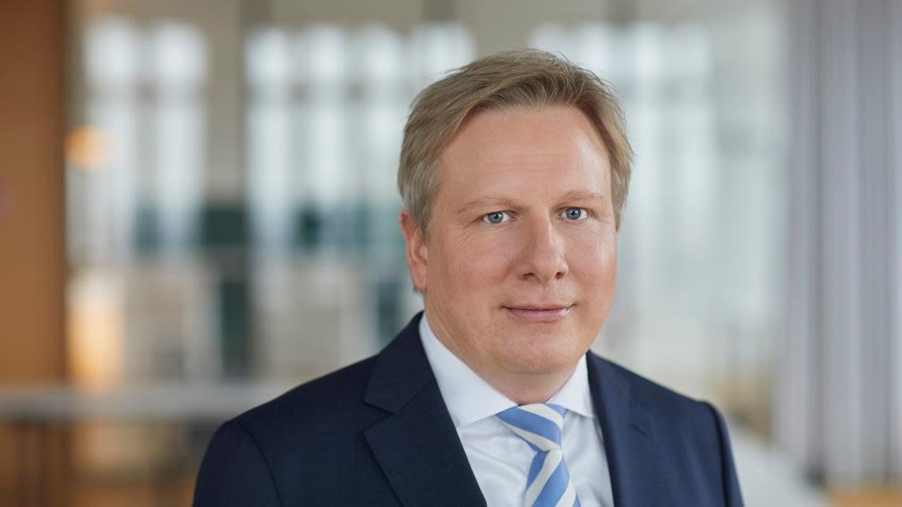 Steffen Mechter, Leiter Geschäftsbereich Bau bei der BayWa AG