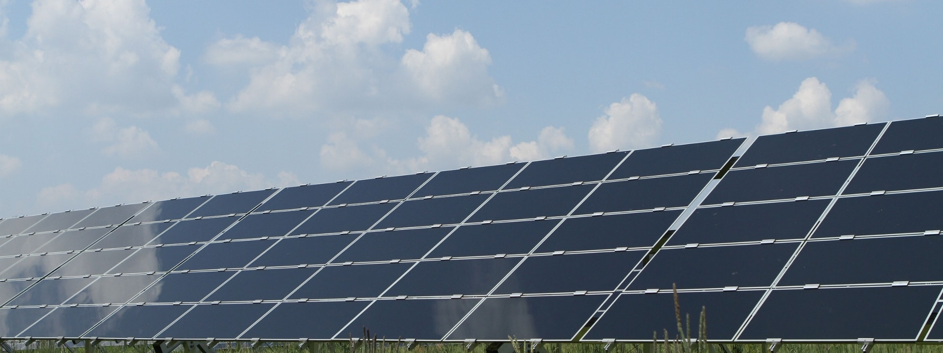 Photovoltaic system on the field