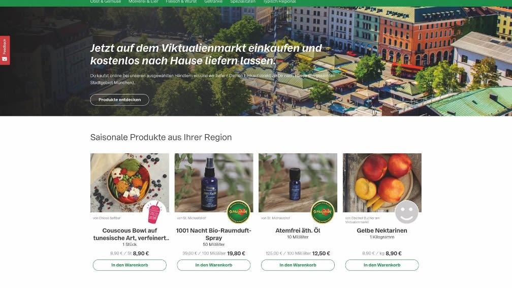 radimundi.de bietet regionale Produkte für  Verbraucher vor Ort an – ab sofort auch vom  Münchner Viktualienmarkt.