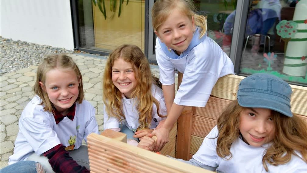 Schulgarten bauen mit der BayWa Stiftung