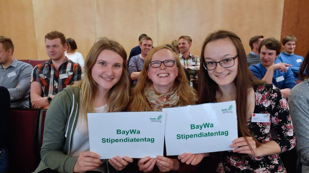 Am Stipendiatentag der BayWa Stiftung dreht sich alles um Networking.
