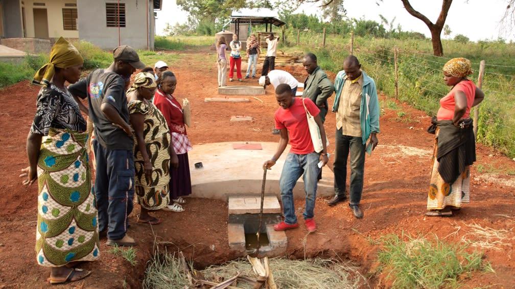Bau von Biogasanlagen in Tansania