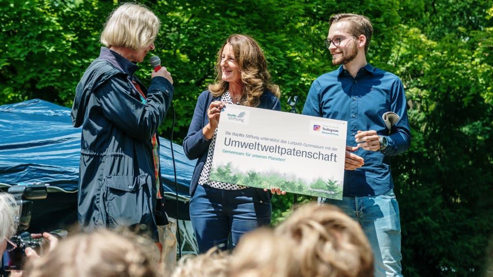 BayWa Foundation is environmental sponsor of the Luitpold-Gymnasium Munich