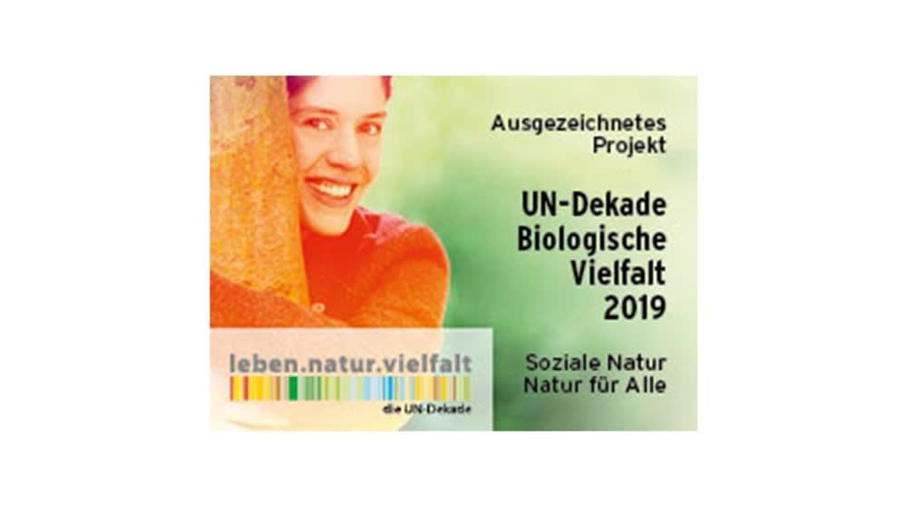 Die Waldschule erhält Auszeichnung der UN-Dekade Biologische Vielfalt.