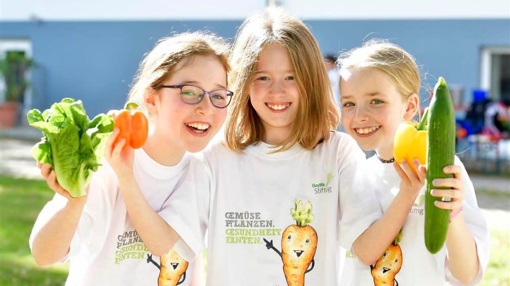 Spenden Sie für gesunde Ernährung bei Kindern