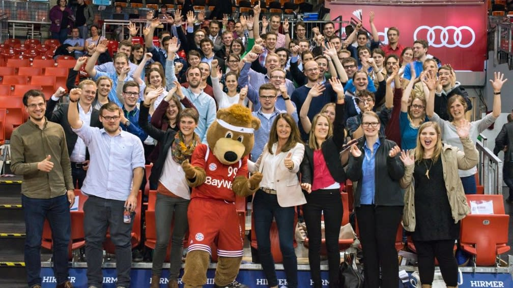 Basketball war Thema des Stipendiatentags der BayWa Stiftung 2015.