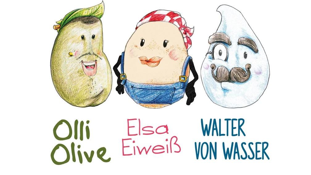 Olli, Elsa, Walter