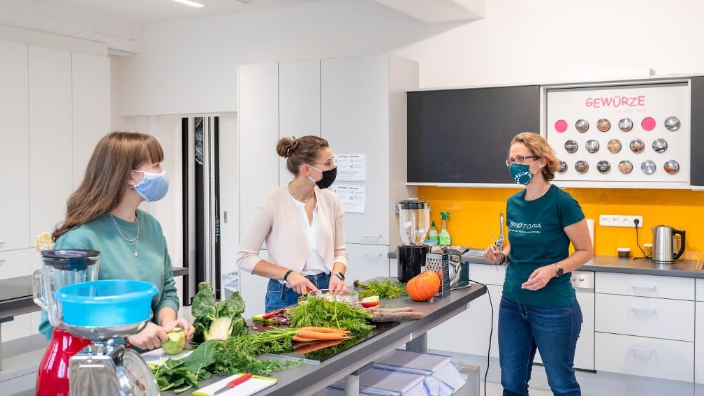 In der Experimentierküche kochen