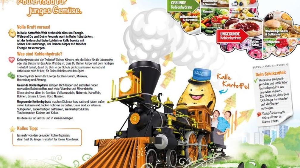 Kohlenhydrate mit Kalle Kartoffel