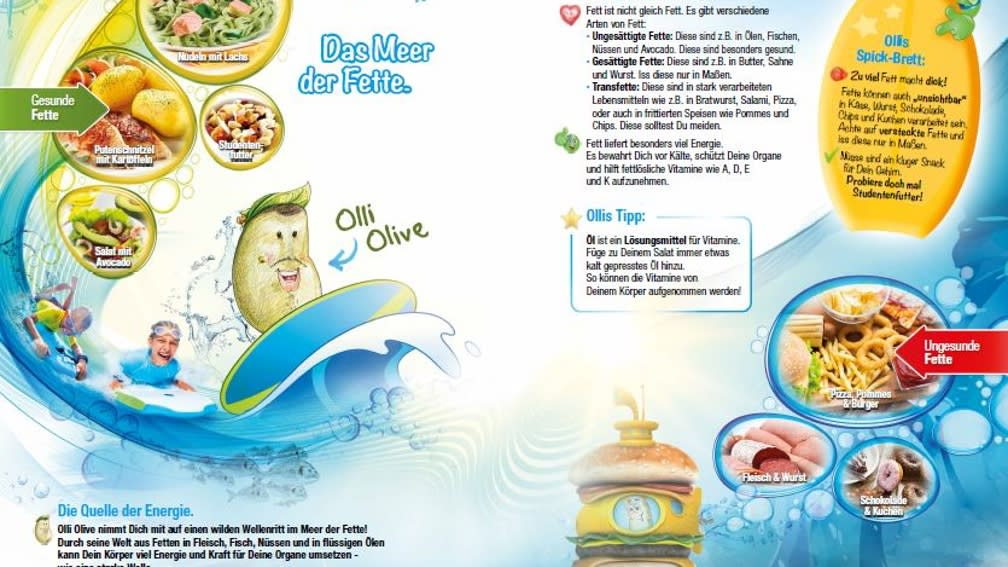 Fette mit Olli Olive