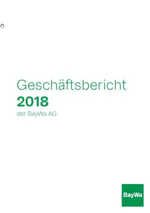 Jahresabschluss BayWa AG 2018