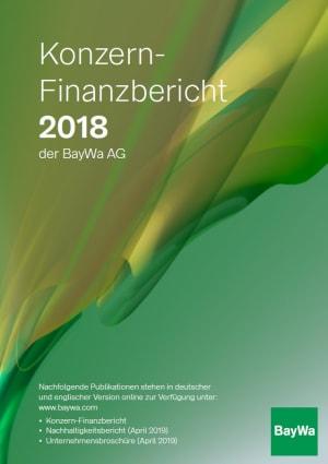 Konzernfinanzbericht 2018