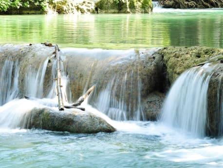 Bild kleiner Wasserfall