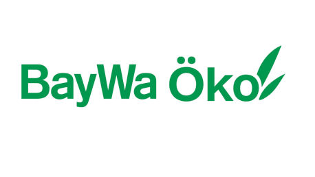 On the picture is the BayWa Öko label printed