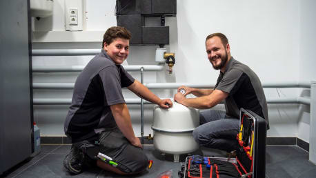 Anlagenmechaniker (m/w/d) für Sanitär-, Heizungs- und Klimatechnik