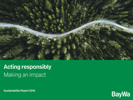 Sustainability Report 2019 Cover