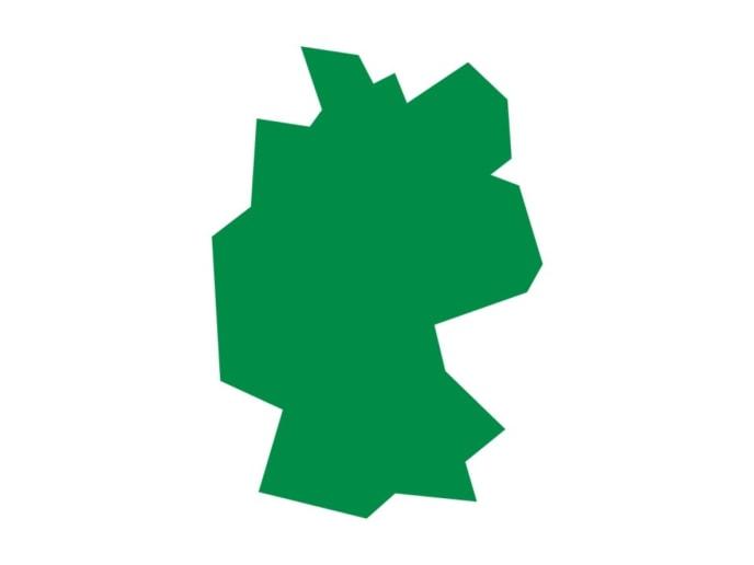 Piktogramm Deutschlandkarte