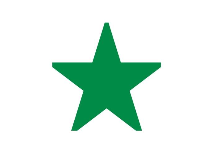 Piktogramm Stern/ Pluspunkte