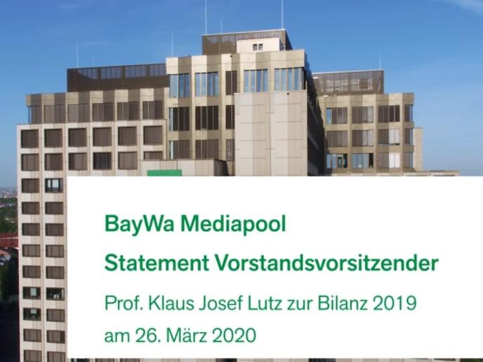 Klaus Josef Lutz, CEO BayWa AG