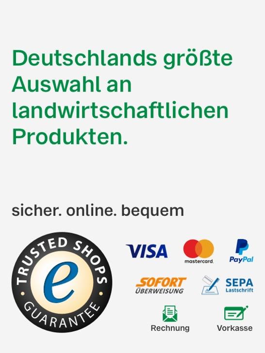 Sicher online einkaufen. Gleich registrieren und alle Zahlarten nutzen können.