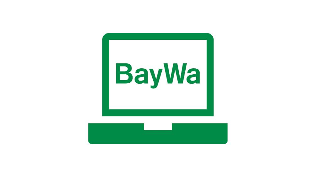 BayWa Kundenportal Piktogramm