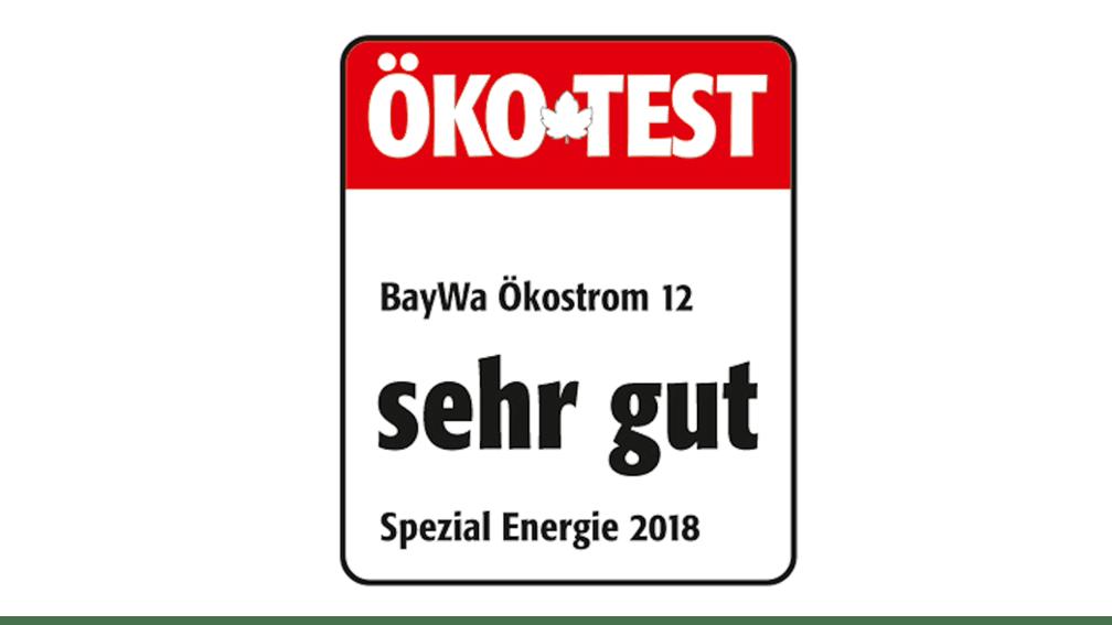 """ÖKo-Test """"sehr gut"""""""