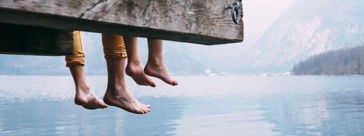 Vater & Sohn am bayerischen See