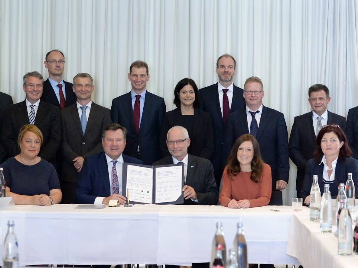 Unterzeichnung Klimapakt