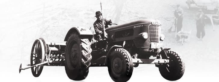 Historical tractor