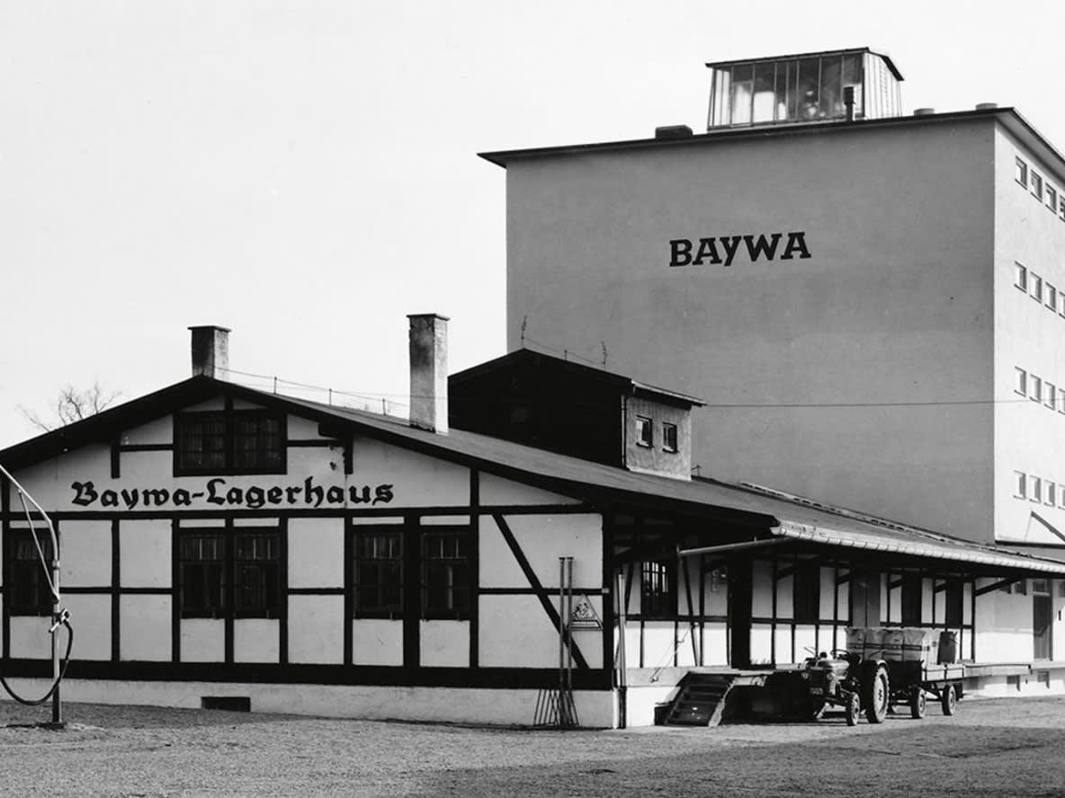 BayWa Lagerhaus in Höchstädt