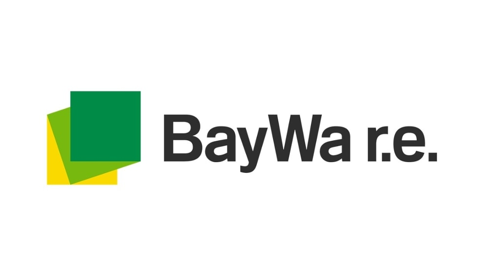 Logo of  BayWa r.e. renewable energy GmbH, Munich