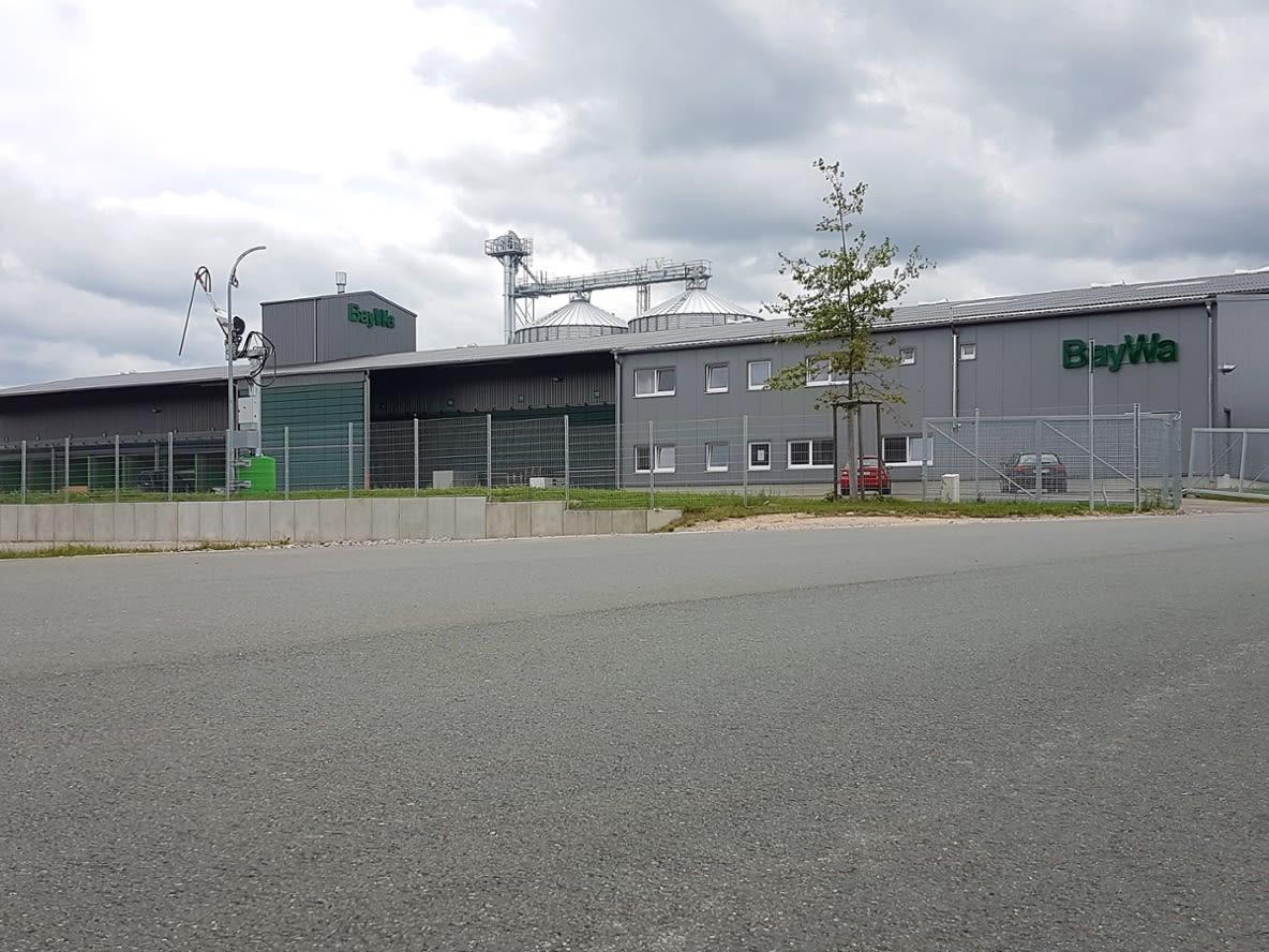 Neues BayWa Agrar Kompetenzzentrums in Wernberg-Köblitz, Ansicht des Gebäudes