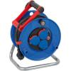brennenstuhl Garant IP44 Kabeltrommel Baustelle mit 25 m Kabel schwarz