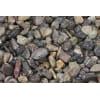 casafino Zierkies Fluss- und Rheinkies bunt, 32 - 70 mm, 25 kg Sack