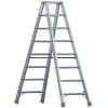 Layher Steigtechnik Stufenstehleiter Topic 1043 Sprossen 2 x 10